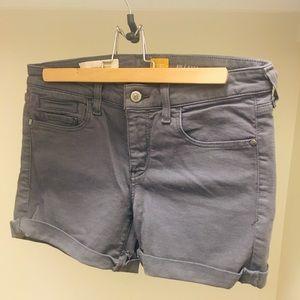 Anthro Pilcro grey Stet shorts